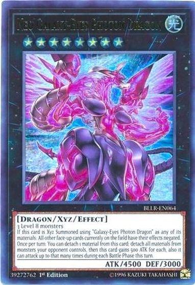 Yu-Gi-Oh  Galaxy-Eyes Photon Dragon 1st Edition LDS2-EN047 NM