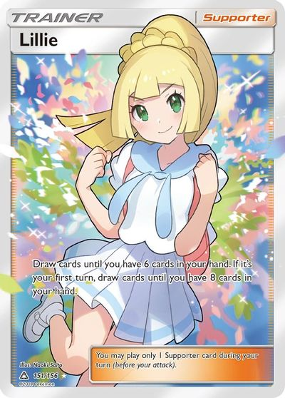 4x 4 x Lillie Trainer 125//156 x4 Pokemon TCG Card Ultra Prism Near Mint