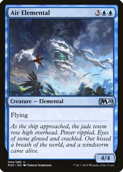 Revised Air Elemental X4 NM MTG *CCGHouse* Magic