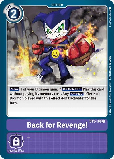 Back for Revenge! - Release Special Booster - Digimon Card Game - TCGplayer .com