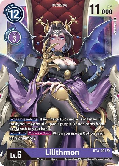 Lilithmon - Release Special Booster - Digimon Card Game - TCGplayer.com