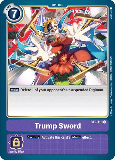 Trump Sword - Release Special Booster - Digimon Card Game - TCGplayer.com