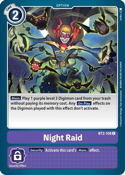 Night Raid - Release Special Booster - Digimon Card Game - TCGplayer.com