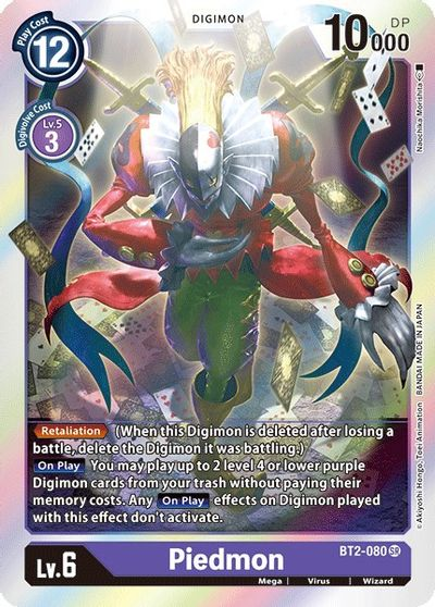 Piedmon - Release Special Booster - Digimon Card Game - TCGplayer.com
