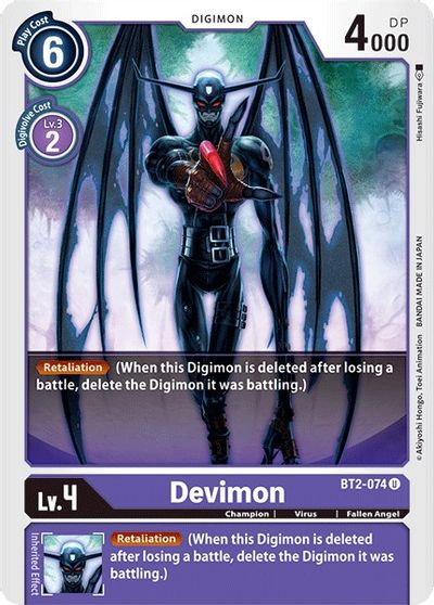 Devimon - Release Special Booster - Digimon Card Game - TCGplayer.com