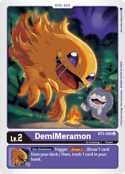 DemiMeramon - Release Special Booster - Digimon Card Game - TCGplayer.com