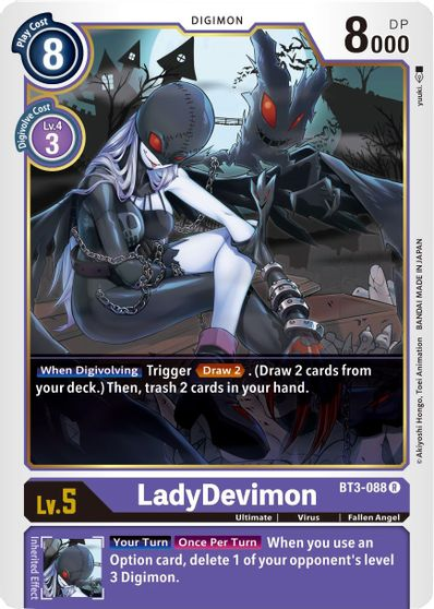 LadyDevimon - Release Special Booster - Digimon Card Game - TCGplayer.com