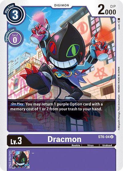 Dracmon - Starter Deck 06: Venomous Violet - Digimon Card Game -  TCGplayer.com