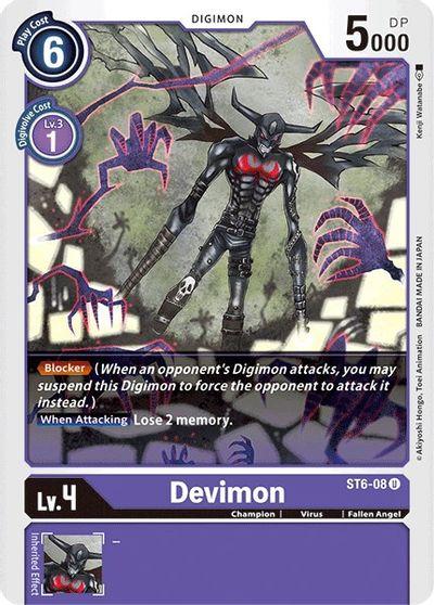 Devimon - Starter Deck 06: Venomous Violet - Digimon Card Game -  TCGplayer.com