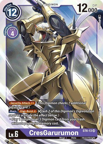 CresGarurumon - Starter Deck 06: Venomous Violet - Digimon Card Game -  TCGplayer.com