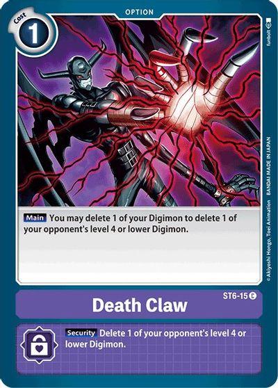 Death Claw - Starter Deck 06: Venomous Violet - Digimon Card Game -  TCGplayer.com
