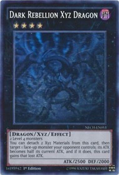 LEHD-ENC33 1st Edition Gem-Mint x3 Dark Rebellion Xyz Dragon Common